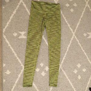 Alo Yoga Green Marl XS Leggings